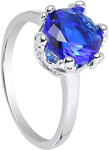 Blue Magnificent Queen Ring