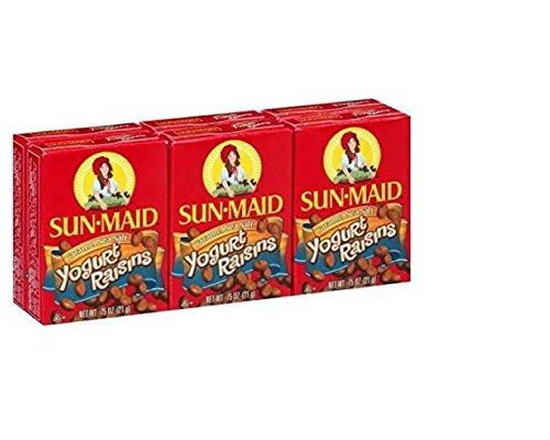 Sun-Maid Caramel Sea Salt Yogurt Raisins, 0.75 Oz, 6 Ct