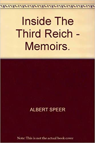 Inside The Third Reich Book