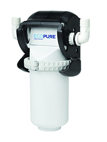(EcoPure EPWHE No Mess Whole Home Water Filtration System-Automatic Bypass-Made in USA-Encapsulated Make Filter Change a)