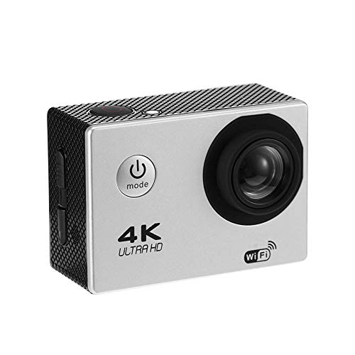 Vanpower F60R 4K WiFi Action Camera 1080P 16MP Cam 30m Waterproof Sports DV (White)