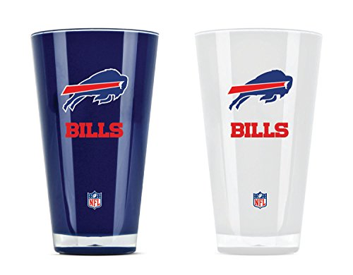 NFL Buffalo Bills 20oz Insulated Acrylic Tumbler Set of 2