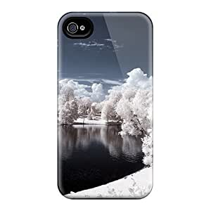 New Premium 6Plus Vigeland Sculpture Park Norway Skin Case Cover Excellent Fitted For Iphone 4/4s