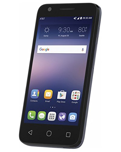 ATT-GoPhone-Alcatel-Ideal-4G-LTE-w-8GB-Memory-Prepaid-Cell-Phone-Slate-Blue