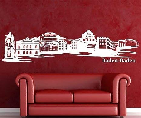 Adhesivo de Pared Baden-Baden Spa Skyline XXL Adhesivo de ...