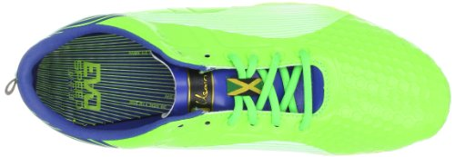 Puma Mens Bolt Evospeed Sprint Td Track Scarpa Gelsomino Verde / Blu Monaco