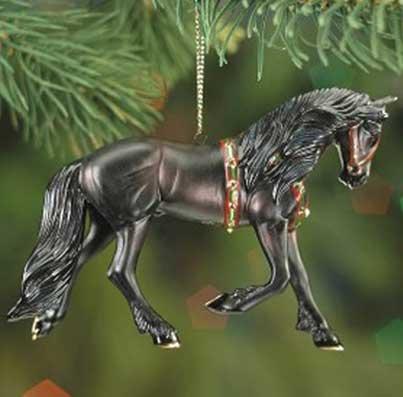Breyer Beautiful Breeds Ornament: The Friesian (Series Beautiful Breeds)