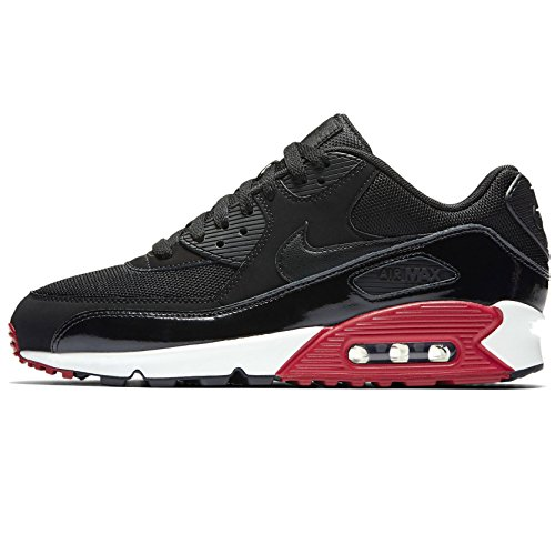 new style a800c 59767 Nike Men s Air Max 90 Essential, BLACK BLACK-GYM RED-WHITE 537384-066 (9.5)  - Buy Online in Oman.   Shoes Products in Oman - See Prices, Reviews and  Free ...