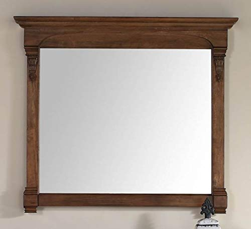(James Martin Vanities Mirror in Country Oak)