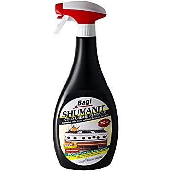 BAGI SHUMANIT - Cold Grease Remover. Spray for the immediate removal of stubborn and burnt fats/grease