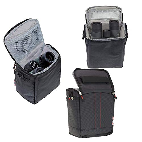 Navitech Black Protective Portable Handheld Binocular Case and Travel Bag for The Leica Noctivid 10 x 50 HD-Plus by Navitech (Image #3)