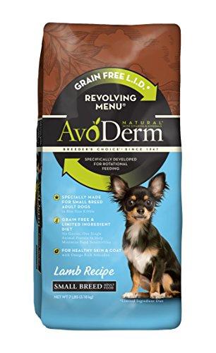 AvoDerm Natural Revolving Menu Small Breed Lamb Dog Food, 7-Pound