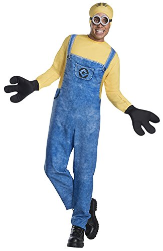 [Rubie's Men's Despicable Me 3 Movie Minion Costume, Dave, Standard] (3 Family Costumes)