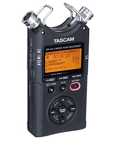Tascam DR-40 4-Track Portable Digital Audio Recorder by Tascam (Image #17)