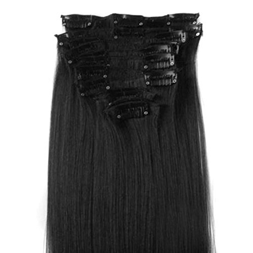DuaFire Synthetic Extensions Straight 01 jet