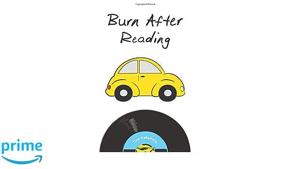 Burn After Reading (The Carly Allen Trilogy): Tina Kakadelis ...
