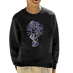 Classic Steampunk Gentleman Kid's Sweatshirt