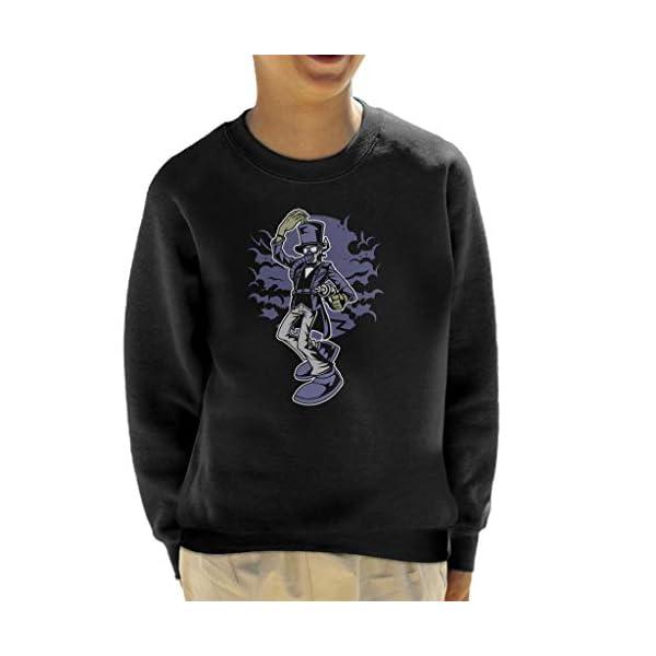 Classic Steampunk Gentleman Kid's Sweatshirt 3