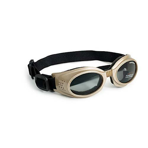 Doggles Originalz Medium Chrome Frame / Smoke Lenses