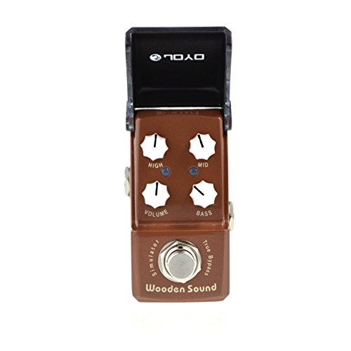 Joyo JF-323 Wooden Sound Acoustic Simulator Electric Guitar Single Effect