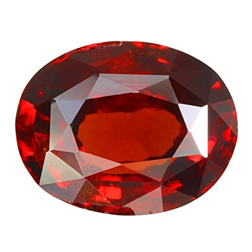 Ct Total Lab (Getgemstones 3.4 Carat Hessonite Garnet Loose Gemstone Natural Certified Gomed)