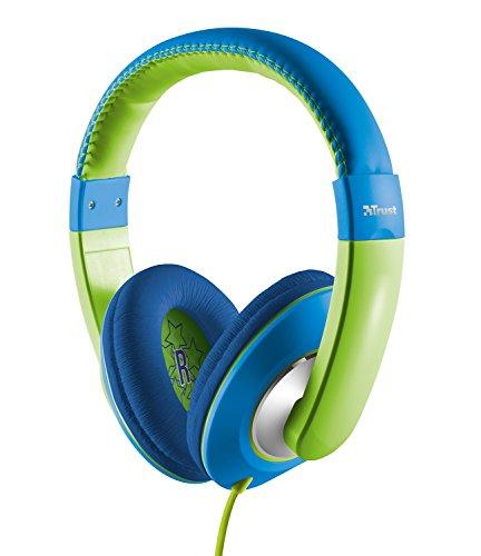 Trust Sonin Kopfhörer für Kinder grün/blau
