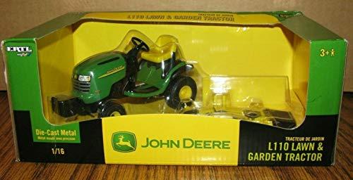 John Deere Die-Cast L110 Lawn & Garden Tractor 1:16 Scale