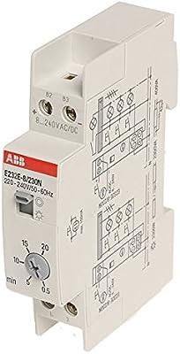ABB minutero de escalera-interruptor tiempo E232E -8/230 Multi 10 pro M compact: Amazon.es: Electrónica