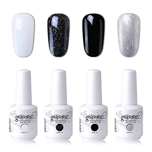 nail art polish black - 7
