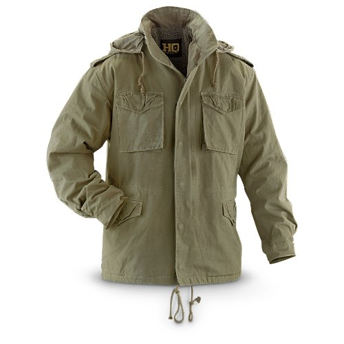 HQ ISSUE H65 Field Jacket Green