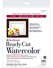 """Strathmore 140-305 Ready Cut WC 5X7 HP, 5"""" x 7"""", Multicolor, 25 Sheets"""