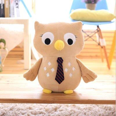 MANGMOC Lovely Owl Short Plush Toy Pp Cotton Stuffed Animal Plush Doll Creative Gift Send to Children Must Have Kids Items The Favourite Superhero Party Favors UNbox Me by MANGMOC