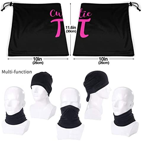Cutie Pi ネックカバー 丸洗い可能 バンダナ 防虫 防寒 フェイスガード 多機能 マジックスカーフ