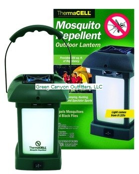ThermaCELL MR-9L Cordless Portable Mosquito Repellent Outdoor Lantern, Outdoor Stuffs