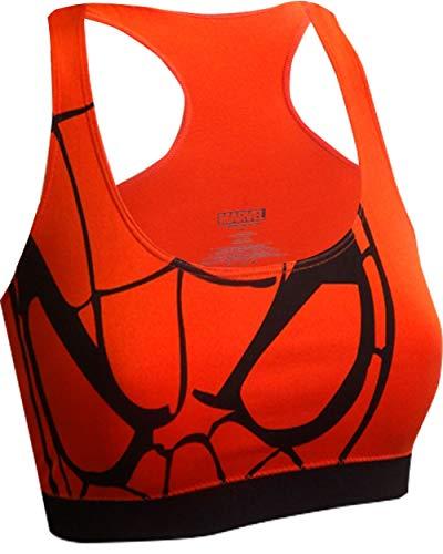 Women's Marvel Comics Spiderman Seamless Bra (X-Large) -