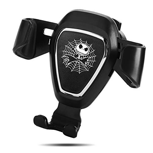 Nightmare Before Christmas Jack Skellington Car Mount Phone Holder Automatic Locking Universal Air Vent GPS Cell Phone…