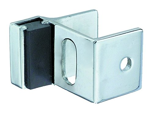 Harris Hardware 750-PC Strike & Keeper Die Cast Zamac Bracket, Chrome Plated ()
