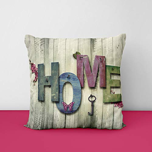 41lPv8PH97L Home Wood Square Design Printed Cushion Cover