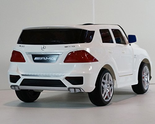 Number one ride on toy new 2015 licensed mercedes benz ml for Red mercedes benz power wheels