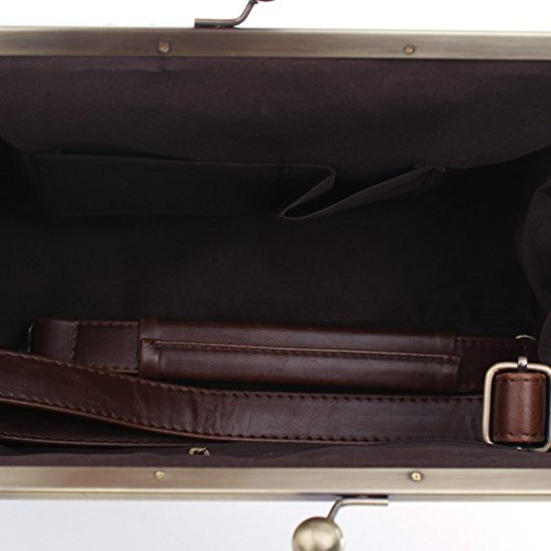 Besace Sac Vintage Sac Shopping Brun Femme Téléphone Epaule Bandoulière Cuir Sac Sac Travail Portés Rétro 0AqfqwF