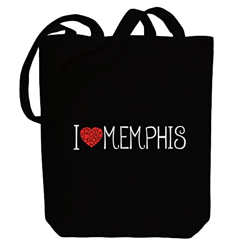 Idakoos Canvas style love Cities Memphis Bag US cool Tote I ppUcrqw6