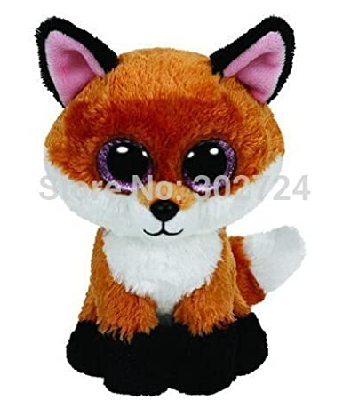 Amazon.com: Nueva TY Beanie Boos Cute Slick Fox Animal de ...