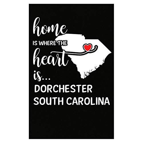 Inked Creatively Dorchester County South Carolina is Where My Heart is Gift - - Dorchester Hanging