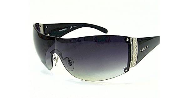 Amazon.com: Vogue VO 2523sb 2523-sb Negro W44/8G anteojos de ...