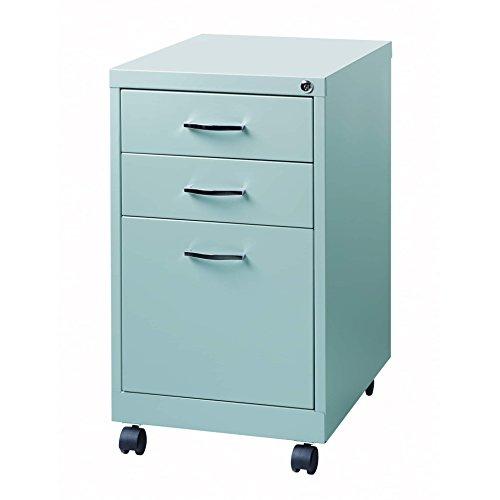 hirsh file cabinet 3 drawer steel - 3