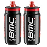 Elite Fly Team BMC Suisse Racing Cycling Water Bottles 550ml (2 Pack)