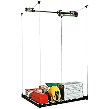 Amazon Com 4ft X 4ft Celling Mounted Rack Garage Storage