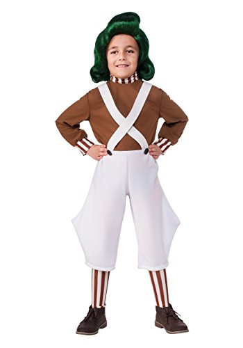Child Oompa Loompa Costume X-Small