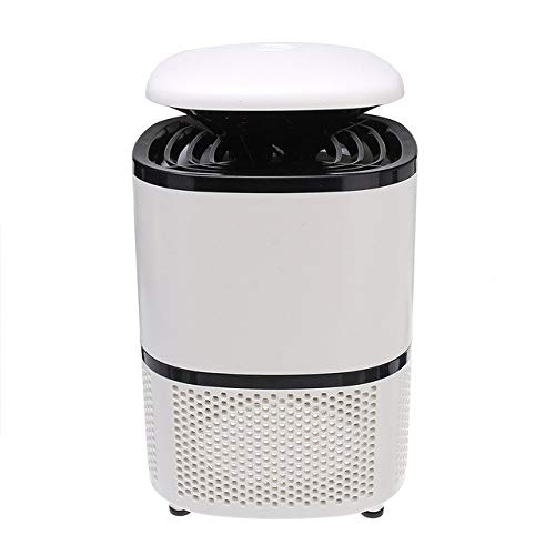 5W Pest Control Electric Anti Mosquito Killer Lamp Mosquito Trap LED Pest Catcher Repeller Insect Repellent Zapper Light Lamp   White