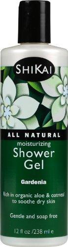 Natural Shikai 12 Ounce - ShiKai All Natural Moisturizing Shower Gel, Gardenia, 12-Ounces by ShiKai